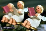 Weihnachtskarten, Weihnachtswünsche: Engel
