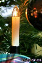 Weihnachtskarten kostenlos: Kerzen