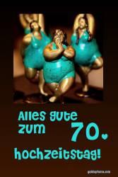 70. Hochtzeitstag Tänzerin