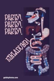 Einladung  Party Verdauung gmbh