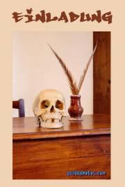 Einladung Totenschädel