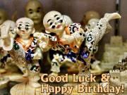 Geburtstagskarte Karate Kids Englisch