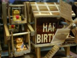 Geburtstagskarte Bärchen Englisch