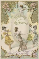 Historische Osterkarte
