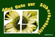 25. gelbe Blüte