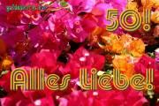 50 Hochzeitstag Karten Bougainville