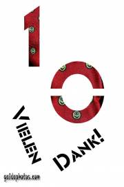 10jähriges Dienstjubiläum: Dankeskarten