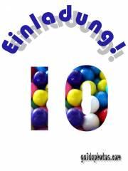 10. Jubiläum: kostenlose Einladungen