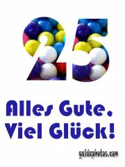 25jährigen Jubiläum, 25. Jahrestag