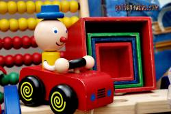 Vatertagskarte Auto, Spielzeug