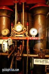 Vatertagskarte dampfmaschine