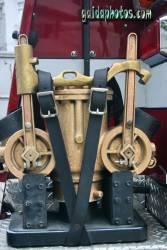 Vatertagskarte Feuerwehr