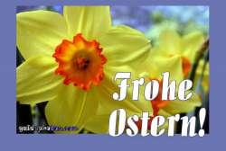 Kostenlose Osterkarte
