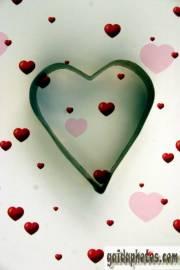 Herz auf Herzchen