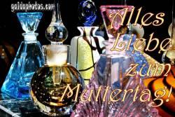 Muttertagskarte Parfüm Flakon