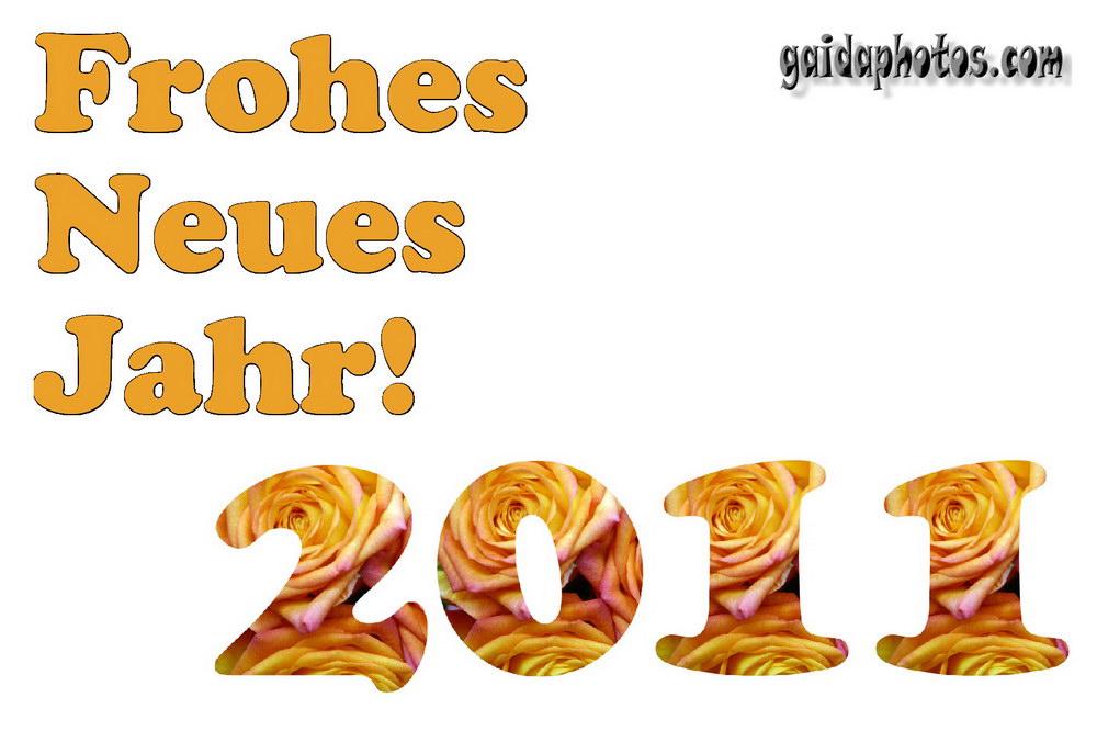 Froher neues jahr 2011 karte 04