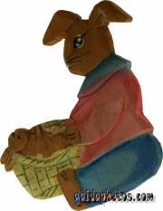 Osterhase: Bastelvorlage, Malvorlage