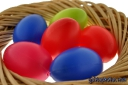 Ostereier basteln und bemalen: Osternest