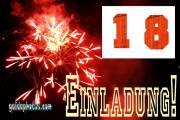 Einladung  18. Feuerwerk
