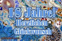 18. Geburtstag: Mosaik