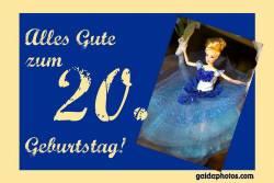 20. Geburtstag Barbie Puppe