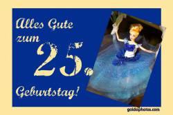 25. Geburtstag Barbie Puppe