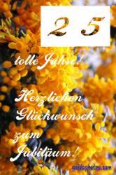 25.  gelbe Blüten