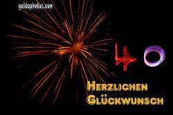 40 Feuerwerk