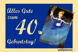 40. Geburtstag  Barbie
