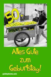 50. Geburtstag Zitrone