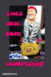 60. Geburtstag Clown lustig