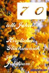 70.  gelbe Blüten
