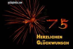 75. Feuerwerk