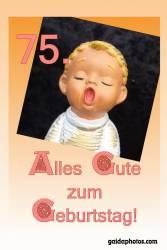 75. Geburtstag Engel singt