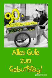 90. Geburtstag Zitrone
