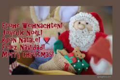ausgefallene Weihnachtskarte