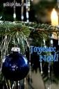 Weihnachtskarten Französisch
