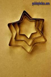 Weihnachtskarten kostenlos zum Ausdrucken - Sterne