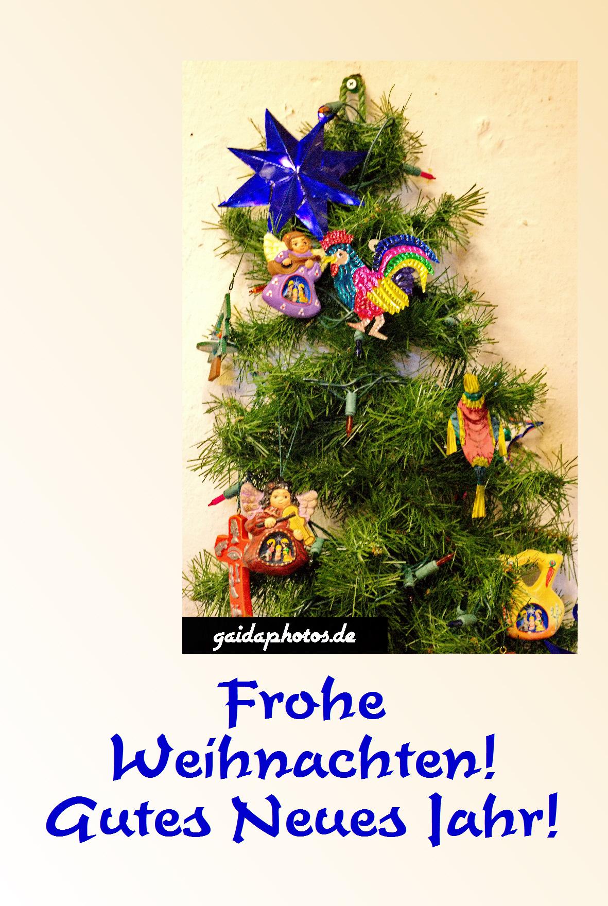 Kostenlose weihnachtskarte mit weihnachtsbaum for Weihnachtskarten kostenlos