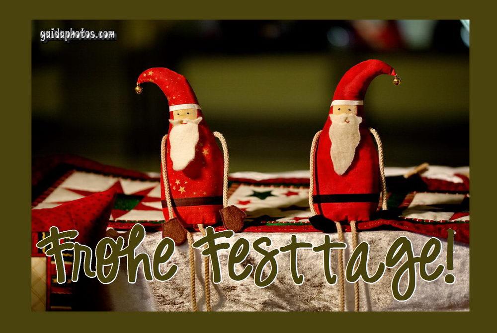 Kostenlose weihnachtskarten mit weihnachtsmann und schneemann - Kostenlose weihnachtskarten ...