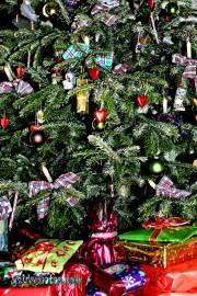 Weihnachtskarten: Weihnachtsbaum Dekoration