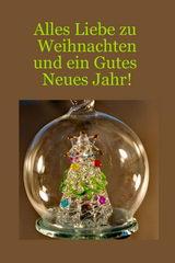 last minute Weihnachtskarten und Neujahrskarten