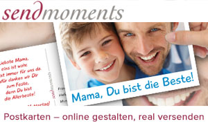 sendmoments bestprice muttertag 300x185 v2 Am 13.05.2012 ist Muttertag!